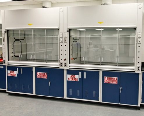 Lab chemical fume hood