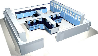 Laboratory Furniture Design Enchanting Laboratory Furniture Planning  Lab Interior Planning  Lffh Inc. Decorating Inspiration
