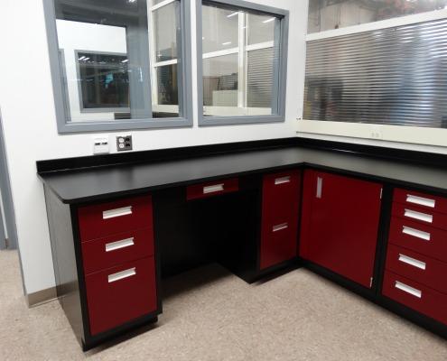 Resin Top Flexible Laboratory Furniture