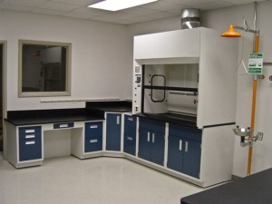 fume hood for a lab