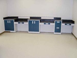Modular Steel Laboratory Furniture design