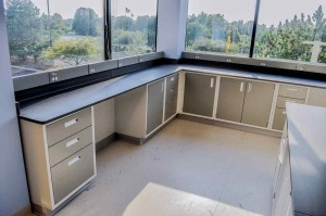 Modular Steel Laboratory Furniture corner piece