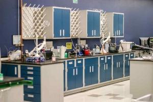 Modular Steel Laboratory Furniture blue