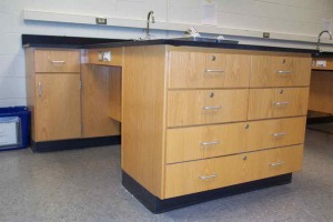 wood case work lab