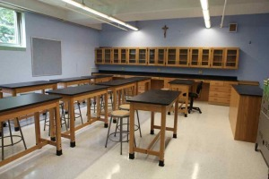 wood design at lab furniture