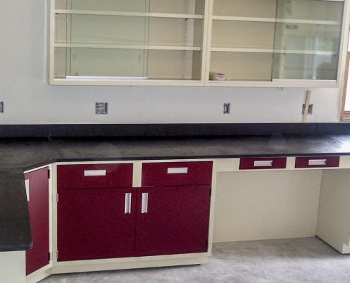 steel lab furniture
